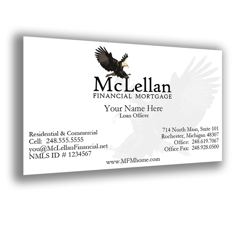 BusinessCard3 - McLellan Financial Mortgage